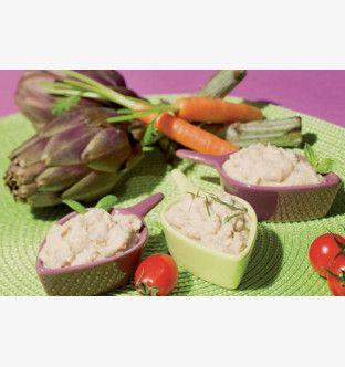 Délice d'artichauts (préparation à base d'artichauds assaisonnée)