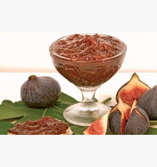 Confit de figues aux raisins de Corinthe (Chutney de figues)