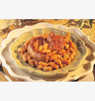 Cassolade au confit de canard à la provençale