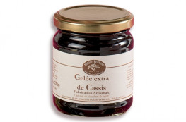 Lot de 2 gelées : cassis + coings
