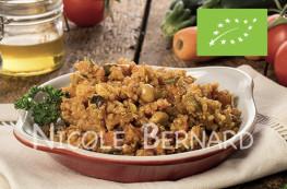 Tajine de quinoa au miel et amandes effilées Bio