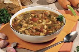 Lot de 2 soupes de légumes au pistou