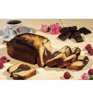 Cake Marbré au Chocolat et...