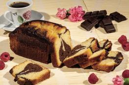 Lot de 2 Cakes Marbrés au Chocolat et au Rhum