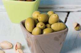 Lot de 2 bocaux d'olives vertes Picholines de Provence